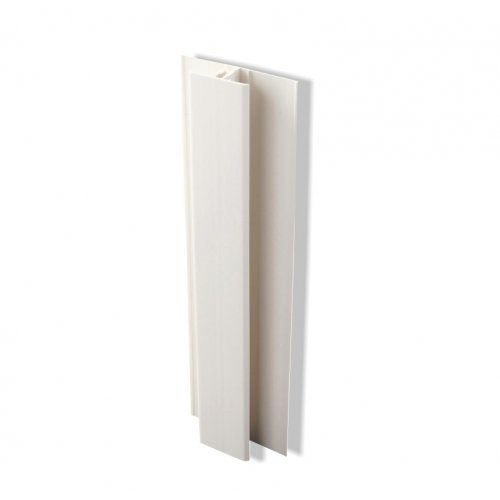2 Part Centre Joint Trim for Kavex Cladding - White