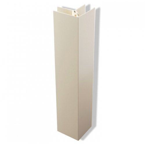 2 Part Int/Ext Corner Trim for Kavex Cladding - White