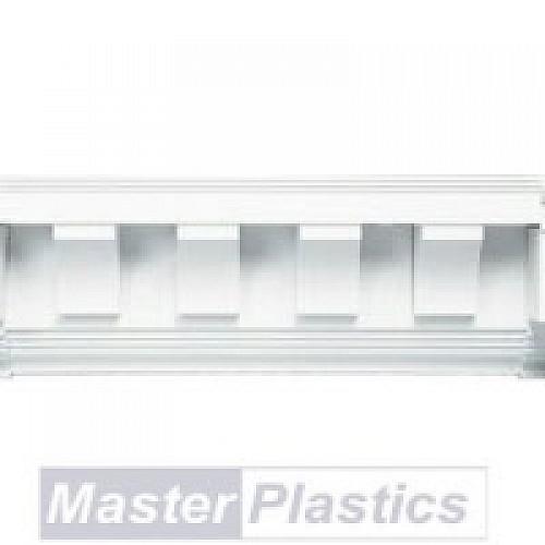 Soffit Upvc Plastic Scalloped Exterior Dentil Trim