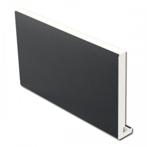 16mm 405mm x 5m Fascia Board Dark Grey