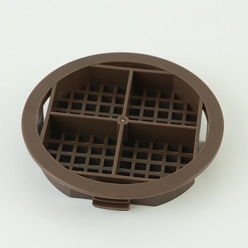 Brown Round Vents