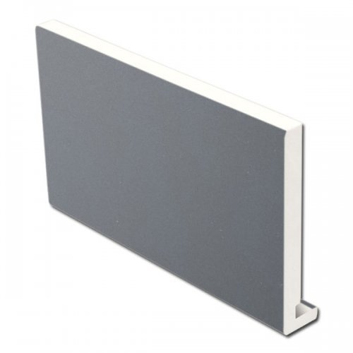 16mm 225mm x 5m Fascia Board Slate Grey