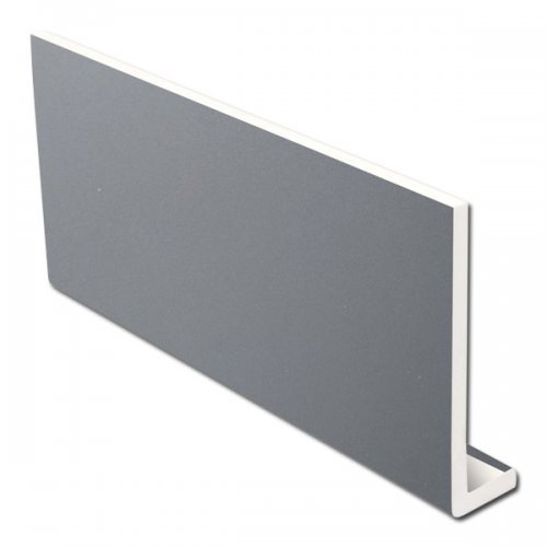 9mm 400mm x 5m Fascia Board - Slate Grey RAL 7015