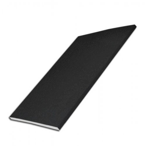 100mm x 5m UPVC Black Ash Soffit - Flat Board