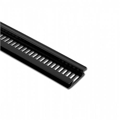 H Soffit Vent Strip Black