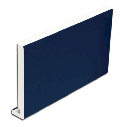 16mm 175mm x 5m Full Replacement Fascia Board Royal Blue Ash Effect