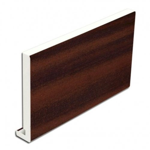 Floplast Mamouth 175mm x 16mm x 5m uPVC Mahogany Replacement Fascia Board