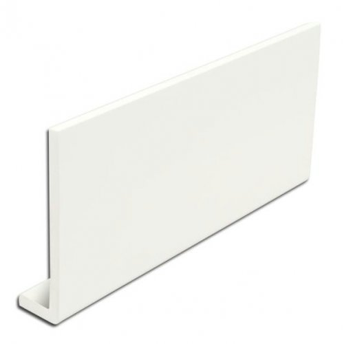 9mm Cover Board Fascia 150mm x 2.5m x 9mm White