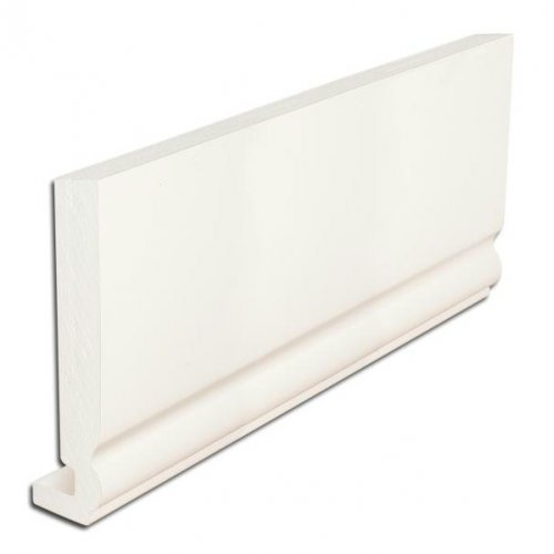 16mm Ogee Full Replacement Fascia Board 200mm x 5m UPVC