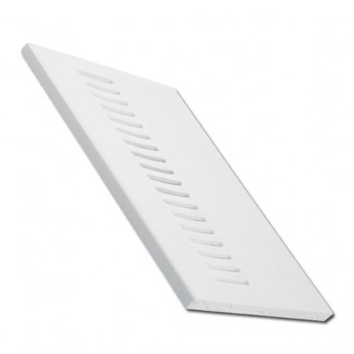 White uPVC Vented Soffit Board - 250mm