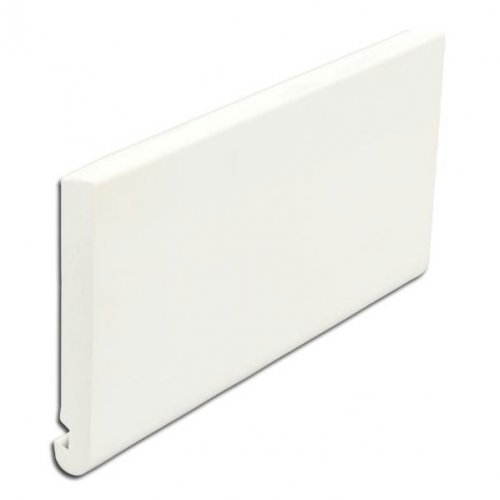 E22 White 22mm uPVC Bullnose Fascias 225mm