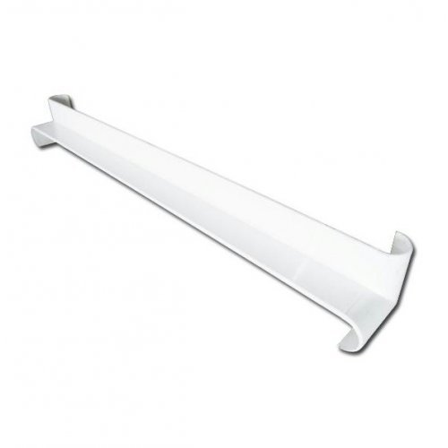 White Bullnose Fascia Internal Corner Joint