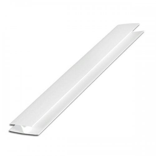 Hollow Soffit Cladding H Section - 10mm x 5m