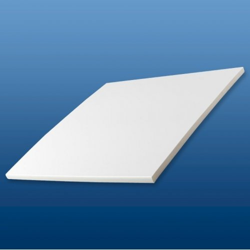 White 200mm x 5 m uPVC Flat Soffit Board - Double Edged