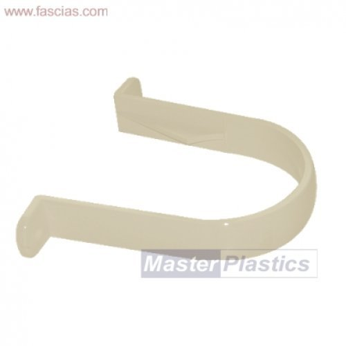 Floplast Cream (Sand) 80mm Downpipe Clip