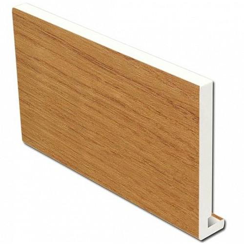 17mm 225mm x 5m Irish Oak Full replacement fascia board