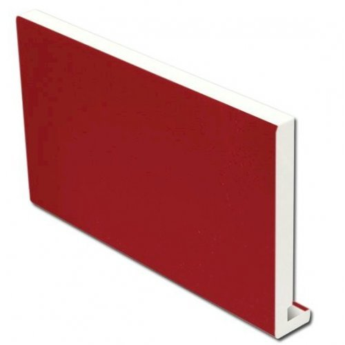 16mm 175mm x 5m Full Replacement Fascia Board Red Ash Effect