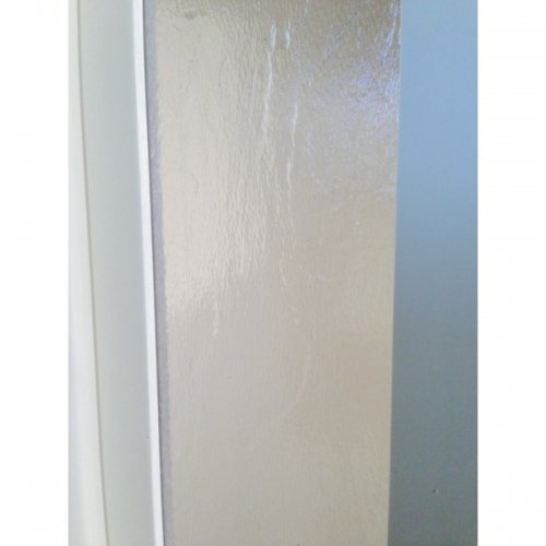 The Eurostar Folding Door - Extension Panel - White - Glass