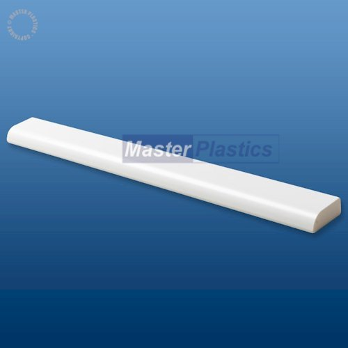 White Kestrel 25mm x 9mm uPVC Pencil Round Fillet