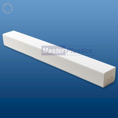 White Kestrel 30mm x 25mm uPVC Rectangle