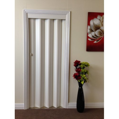 Rapid 880mm Folding Door - Plain White