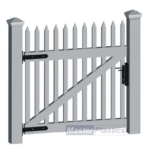 Single Gates... Simple Picket