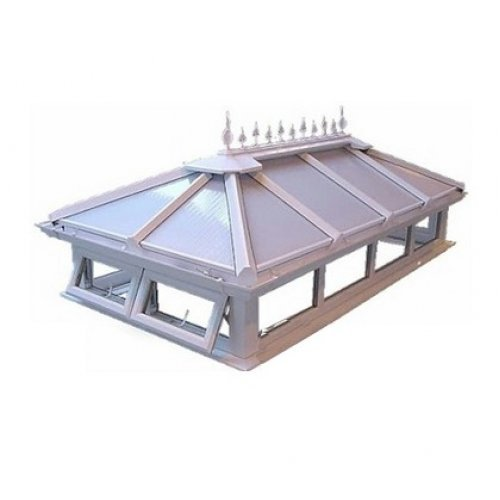 Up To 1.5m x 2.5m Polycarbonate Roof Lantern