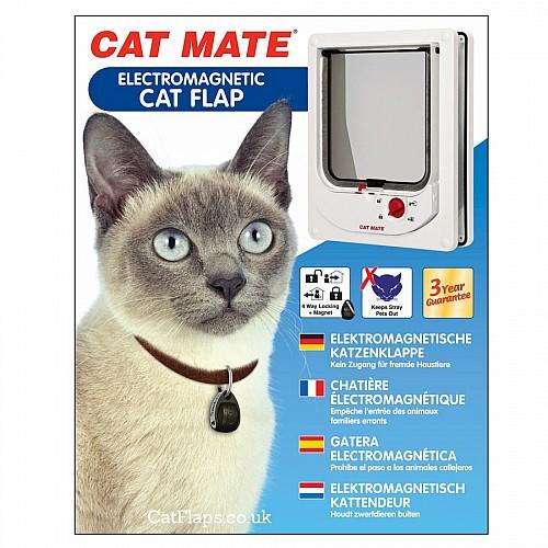 Electromagnetic Cat Flap