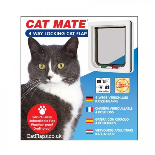 Cat Mate W  Way Locking Cat Flap