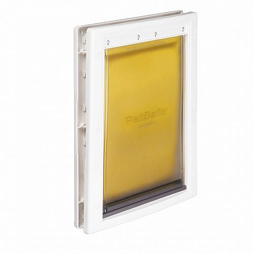 Petsafe extreme weather energy efficient pet door medium for Energy efficient entry doors