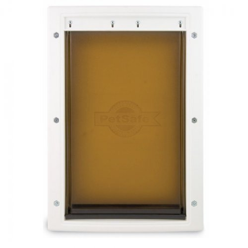 Petsafe extreme weather energy efficient pet door small for Energy efficient entry doors