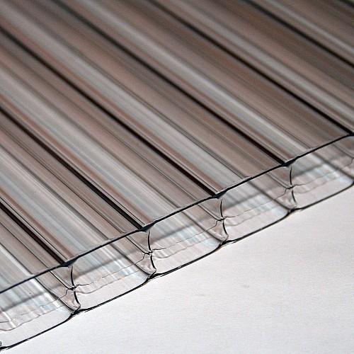 16mm X 900mm X 4500mm - Multi-Wall / Triple Wall Polycarbonate Sheet - Clear