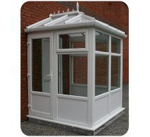 2.5m X 2.0m Edwardian DIY Porch UPVC Made To Measure