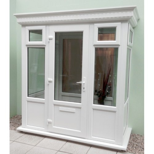 Double Glazed Windows Diy : Diy double glazed porch with a grp flat roof m