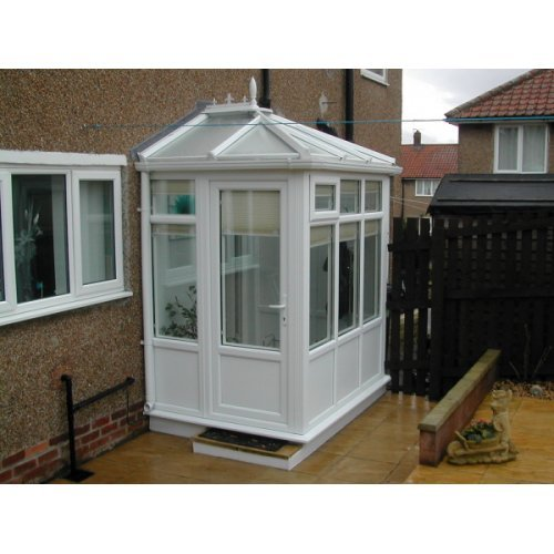 1.5m X 1.5m Edwardian DIY Porch UPVC Made To Measure