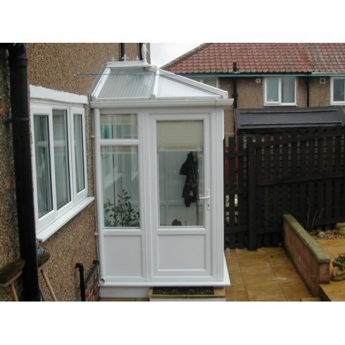 2.0m X 2.0m Edwardian DIY Porch  UPVC Made To Measure