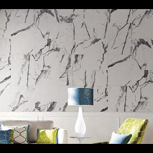 Onyx Beige (Gloss) Decor Panel - 2.6mtr x 400mm x 7.5mm x 4 Pack