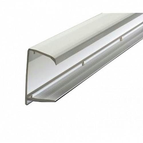 10mm Polycarbonate Sheet End Closure - White