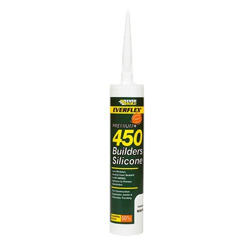 Everbuild 450 Builders Silicone - Grey