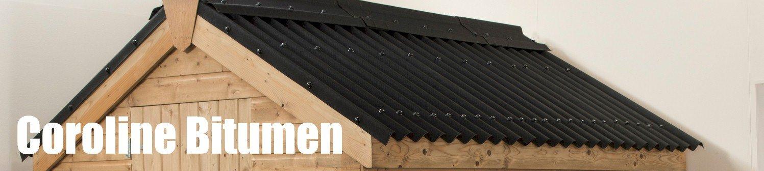 Bitumen Corrugated Sheets Black